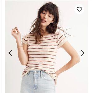 Madewell Marin Sweater Tee in Stripe